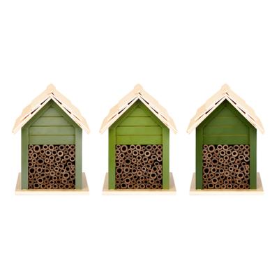 Insectenhuis Bijen, Groentinten (Esschert Design)