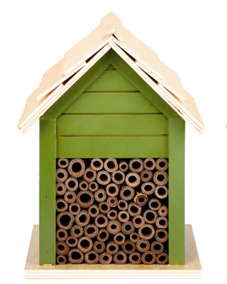 Insectenhuis Bijen, 3 soorten groentinten