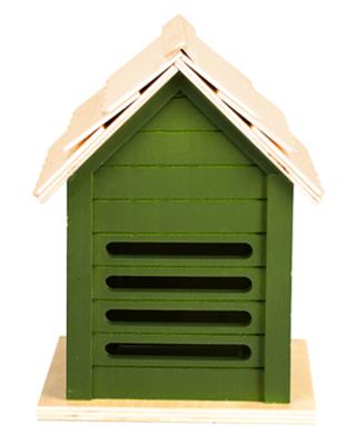 Lieveheersbeestje huis, 3 soorten groentinten