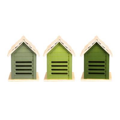 Lieveheersbeestje huis, Groentinten (Esschert Design)