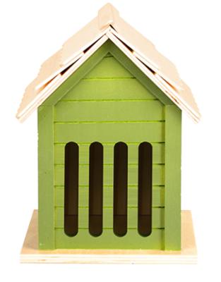 Vlinderhuis, 3 soorten groentinten