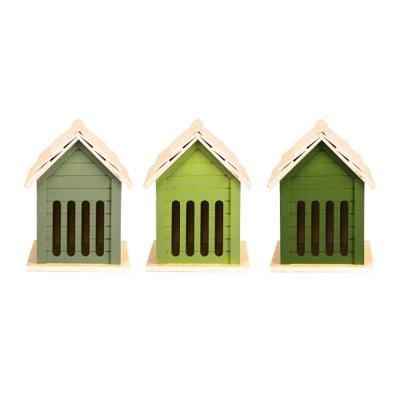 Vlinderhuis, Groentinten (Esschert Design)