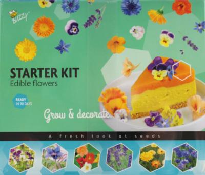 Kweekset mini, Eetbare bloemen