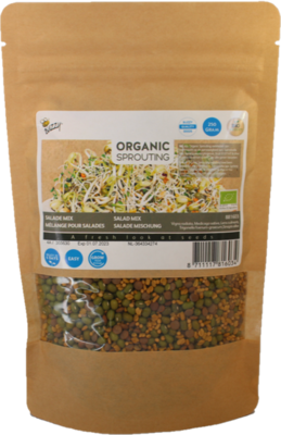 Salade mix zaden, Organic Sprouting Grootverpakking | BIO