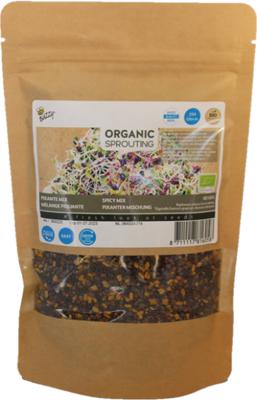 Pikante mix zaden, Organic Sprouting Grootverpakking | BIO