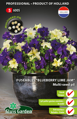 Petunia zaden, Blueberry Lime Jam (Multi-seed pillen)