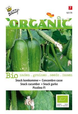 Snackkomkommer zaden, Picolino F1 | BIO