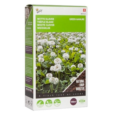 Witte klaver zaden, Groenbemester (100 gram)