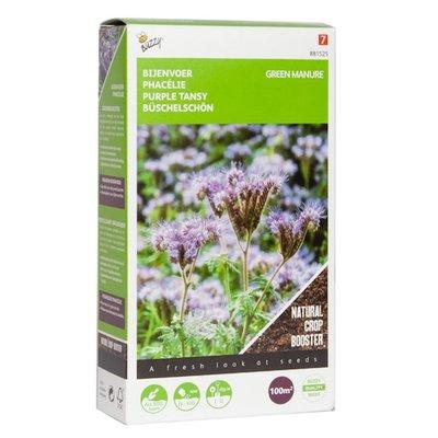Phacelia zaden, Groenbemester Bijenvoer (100 gram)