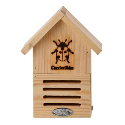 Houten Lieveheersbeestjes Huisje