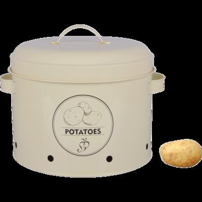 Voorraadblik aardappels (Esschert Design)