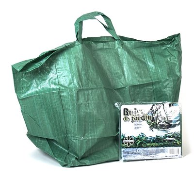 Tuinafvalzak, Groen met handvaten