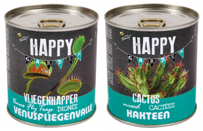 Blikjes kweekset, Cactus en Vliegenvanger