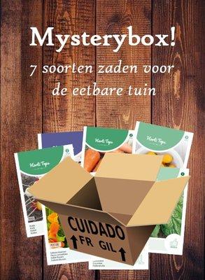 Mysterybox met zaden, Eetbare tuin