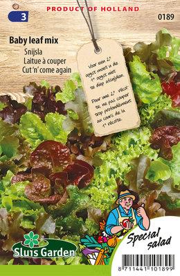 Sla Zaden, Snij Baby Leaf Mix