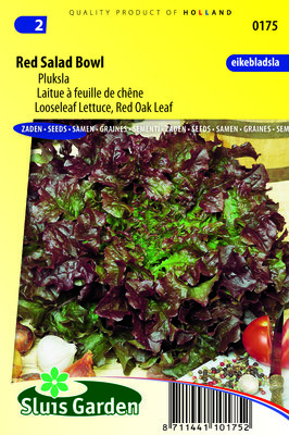 Sla Zaden, Pluk Red Salad Bowl
