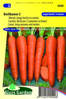 Wortel Zaden, Berlikumer 2 (Wortels)