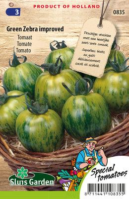 Tomaat Zaden, Green Zebra (Tomaten)