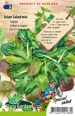 Sla Zaden, Snijsla Asian Salad Mix