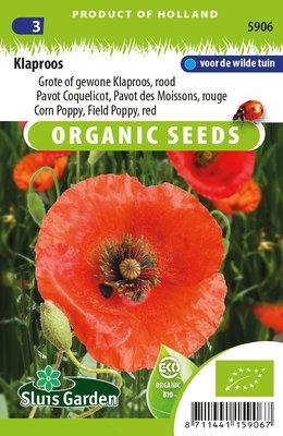 Klaproos zaden, Rode klaproos (papaver) | BIO