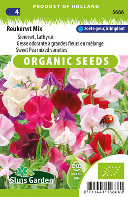Reukerwt Zaden, Lathyrus Mix | BIO