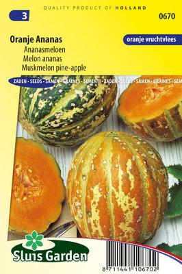 Meloen Zaden, Ananasmeloen Oranje