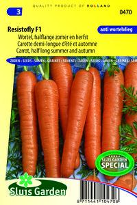 Wortel zaden kopen, Resistafly F1 (Tozresis) | Moestuinland