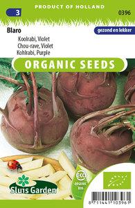 Biologische koolrabi zaden kopen, Blaro Violet   Moestuinland