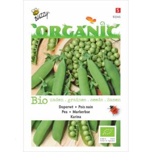 Doperwt zaden kopen, Karina BIO Biologisch | Moestuinland