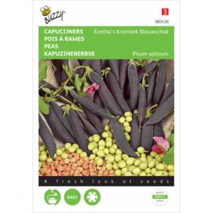 Capucijner zaden kopen, Ezetha's Krombek Blauwschokker | Moestuinland