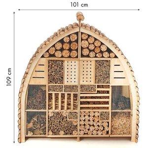 XXL Insectenhotel kopen, Giant Buzzy@Home | Moestuinland