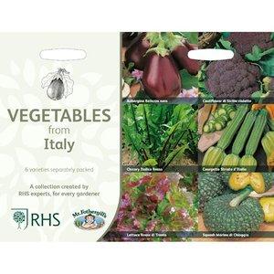 Italiaanse groenten zaden kopen, Collectie van 6 soorten | Moestuinland