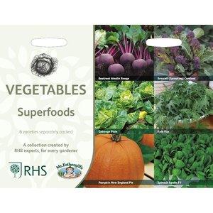 Superfood groenten, Collectie van 6