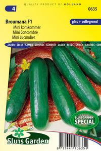 Komkommer zaden kopen, Broumada F1 (Mini) | Moestuinland