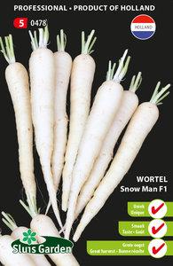 witte wortel zaden kopen bij moestuinland