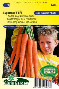 Wortel zaden kopen, Sugarsnax 54 F1 | Moestuinland
