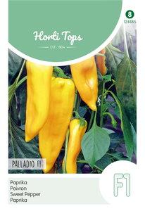 Gele paprika zaden kopen, Gele Koehoorn Palladio F1 | Moestuinland