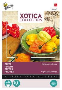 Peper zaden kopen, Habanero Mix | Moestuinland