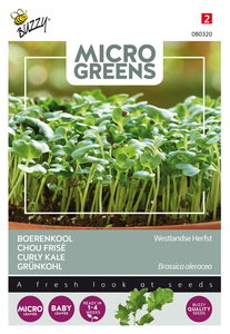 Boerenkool Zaden Kopen, Micro Greens (Westlandse) | Moestuinland