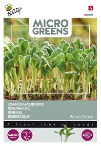 Komkommerkruid zaden kopen, micro greens (Borage) | Moestuinland