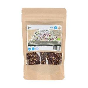 Pikante mix zaden kopen, Organic Sprouting Grootverpakking (250 gram) | Moestuinland