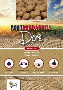 Pootaardappel Dore kopen, 1 kilogram   Moestuinland