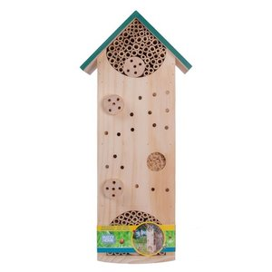 Insectenhotel kopen, 50 centimeter lang huis insecten hotel | Moestuinland