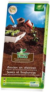 Zaai- en stekgrond kopen, Zaaigrond Humuforte (10 liter) | Moestuinland