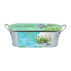 Zaaiset kruiden kopen bestellen, Herbs Small Garden Peterselie, bieslook basilicum   Moestuinland