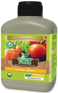 Vloeibare meststof kopen voor groente en kruiden, Humuforte Bio | Moestuinland