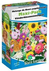 Vlinderbloemen zaden kopen, Maxi-pack (100 gram) bloemenmengsel | Moestuinland