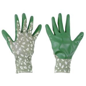 Tuinhandschoenen kopen groen M regular nitril polyester | Moestuinland