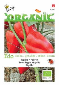Biologische paprika zaden kopen, Piquillo | Moestuinland