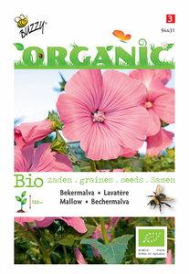 Bekermalva zaden kopen biologisch, Lavatera trimestris (BIO) | Moestuinland